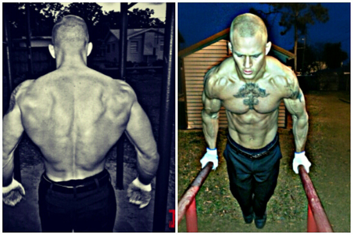 Jordan Hill's transformation through calisthenics-only training.