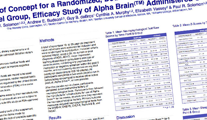 A randomized, double-blind, placebo controlled, parallel ...