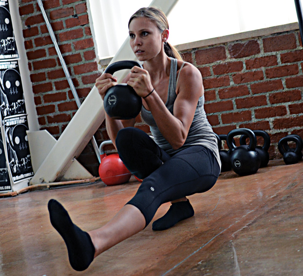 Women are more open to unconventional training methods than most men.