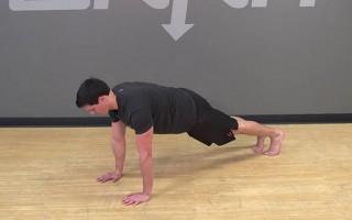 Bodyweight Plank Exercise