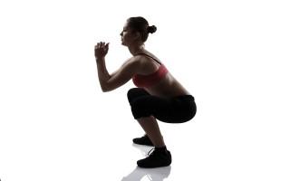 Bodyweight Deck Squat Exercise