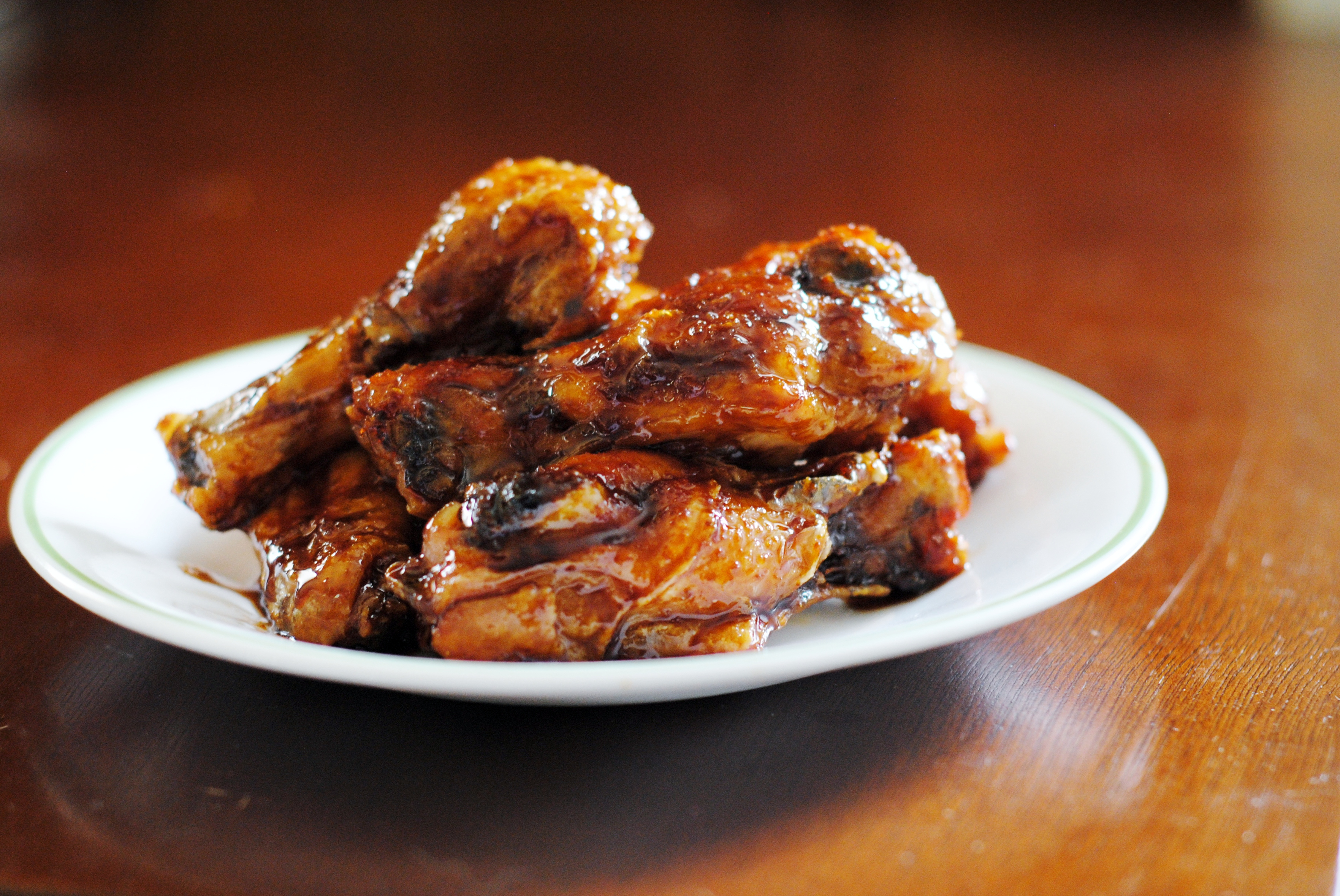 ... glazed chicken wings for the chicken orange ginger chicken wings
