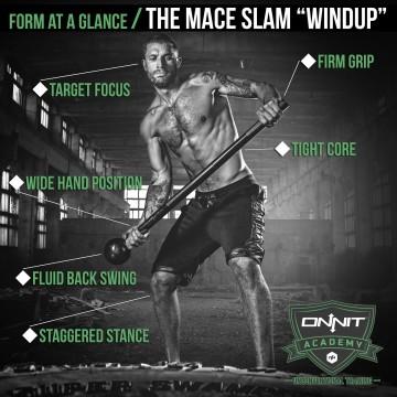 Form at a Glance: Steel Mace Slam Windup