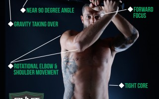 Form at a Glance: How to do the Steel Mace 360 Exercise