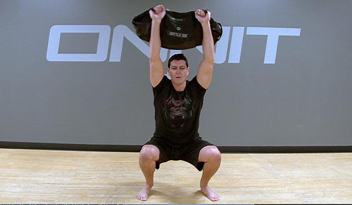 Sandbag Workout: Warrior Strength Sandbag Workout