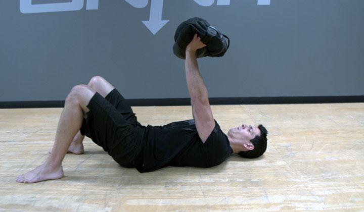 Workout Sandbag Warrior Strength Workout
