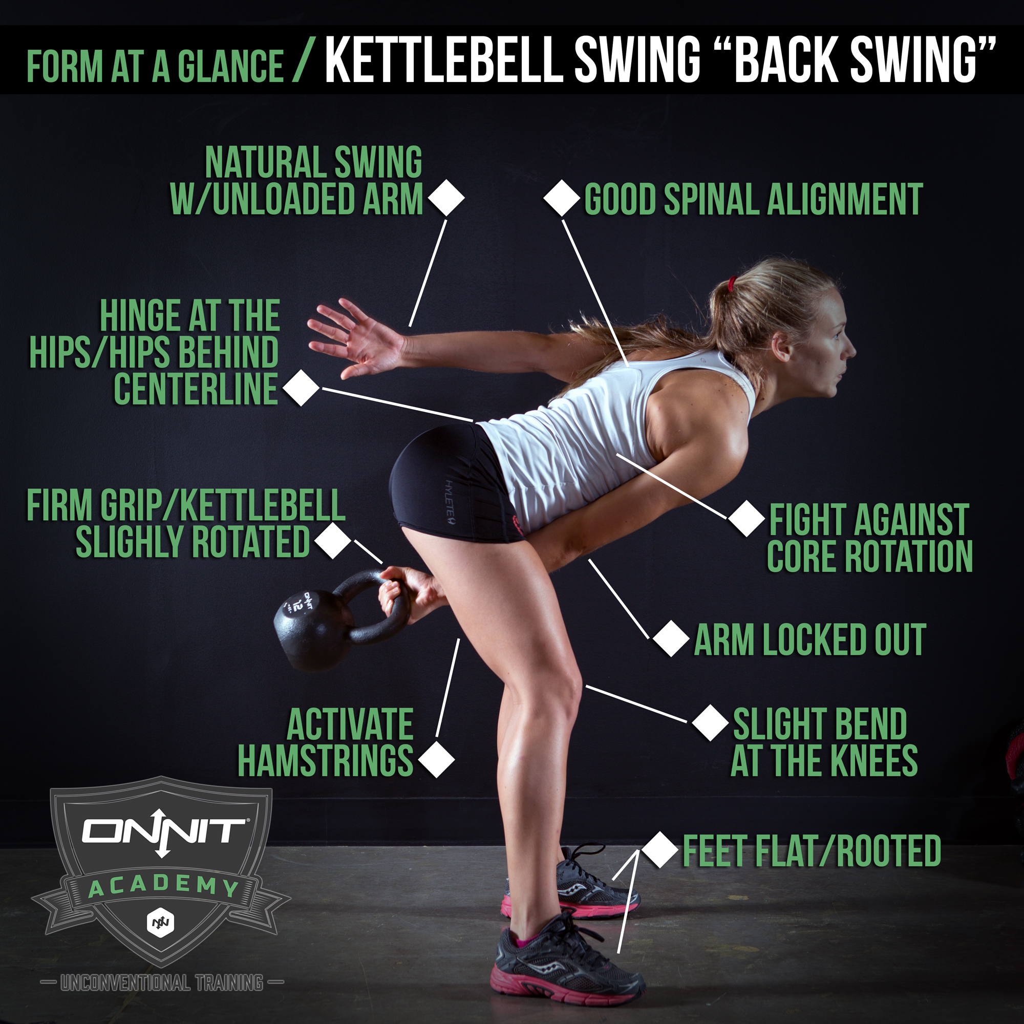 Swing with kettlebell