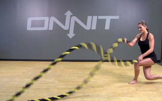 Complex Battle Ropes Fat Burning Workout