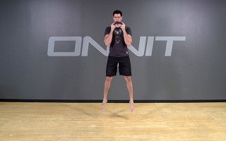 Kettlebell Exercise: Jump Squat