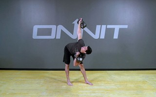 Kettlebell Exercise: Double Windmill Single Rack