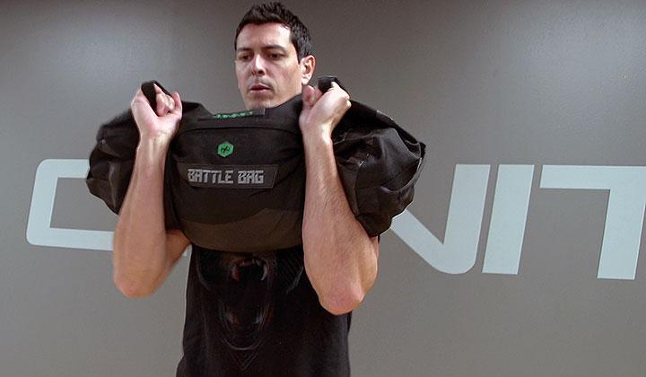 Sandbag Warrior Strength Workout #4