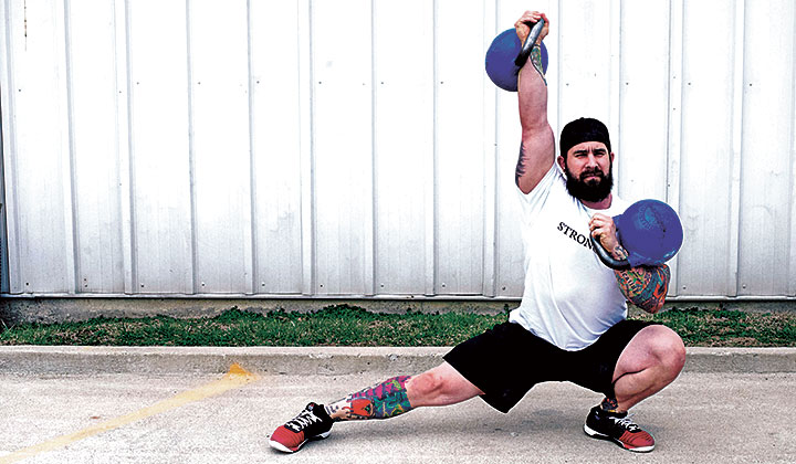4 Double Kettlebell Workouts For Mass Strength