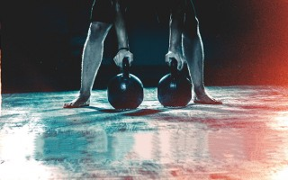 Double Heavy Kettlebell Strength Workout