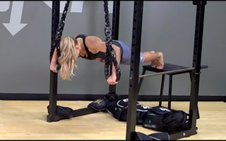 Suspension Exercise: Elevated Pushup