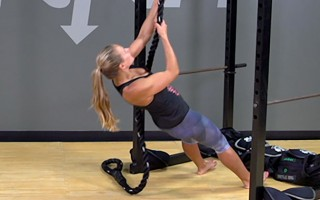 Suspension Exercise: Assisted Rope Climb