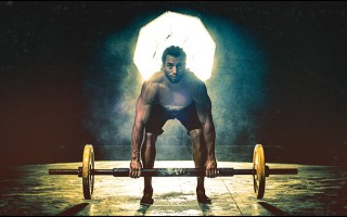 Unconventional Barbell Strength Workout