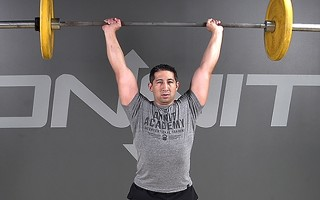 Barbell Exercise: Military Press