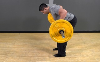 Barbell Exercise: Bent Over Row