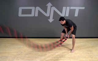 Battle Rope Exercise: Double Slam