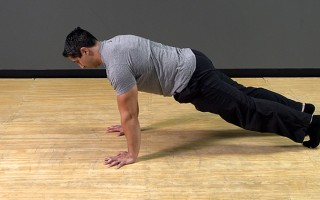Bodyweight Exercise: Strict Push Up