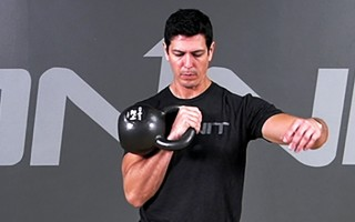Kettlebell Exercise: Clean