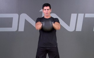 Kettlebell Exercise: 2-Hand Swing