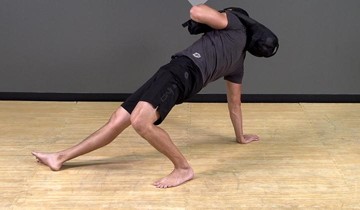 Sandbag Exercise: Get Up