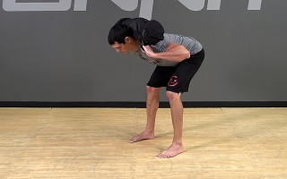 Sandbag Exercise: Back Hold Good Morning