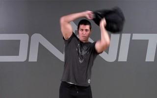 Sandbag Exercise: Bulgarian Bag Spin