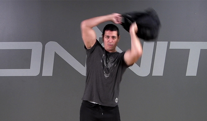Sandbag Exercise: Bulgarian Bag Spin