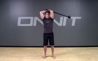 Steel Mace Exercise: Pendulum