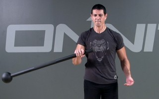 Steel Mace Exercise: Pendulum Clean