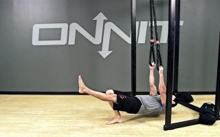 Suspension Exercise: Explosive Alt 1-Leg Body Row