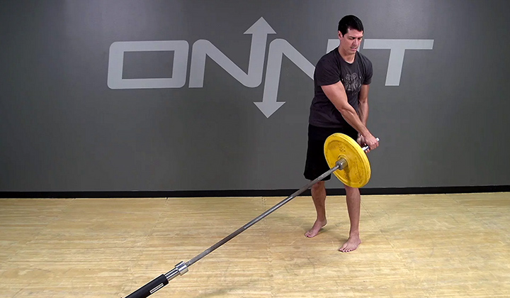 Axle Bus Driver Barbell Exercise