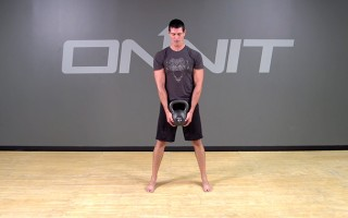 Kettlebell Crush Grip Deadlift