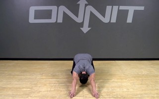 Loaded Child Pose Rotations Bodyweight Exercise