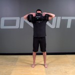 Sandbag Exercise: 2-Hand Pinch Grip Upright Row