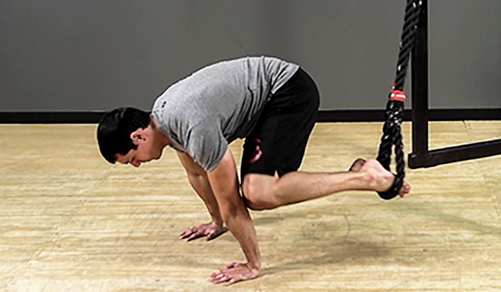 Suspension Exercise: Oblique Crunch