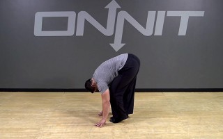 Forward Fold Pedal Drill Bodyweight Exercise