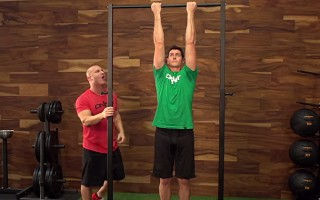 Joe Defranco demonstrates how to Perform a Proper Chin Up at the Onnit Academy