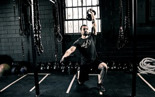 Full Body Kettlebell Workout for MMA Strength