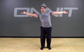 Alternating Arm Screw Bodyweight Exercise