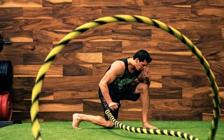 1 Arm MMA Battle Rope Conditioning Workout