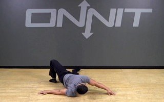 Alternating Floor Scorpion Bodyweight Exercise