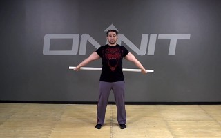 Shoulder Dislocates Bodyweight Exercise
