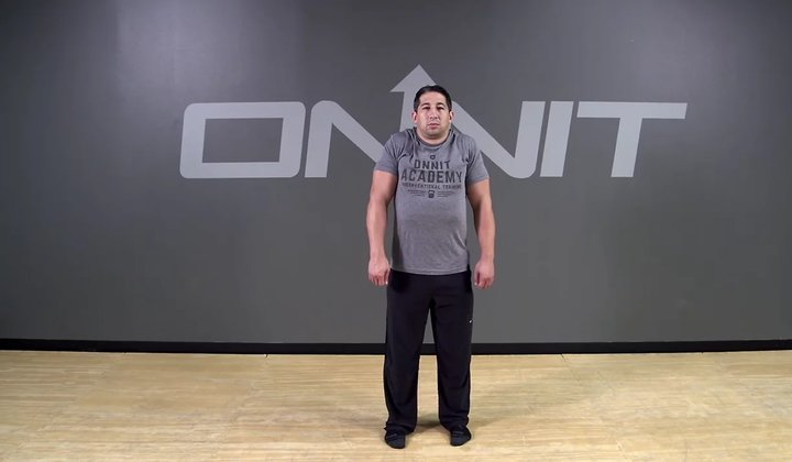 Double Back Shoulder Roll Bodyweight Exercise