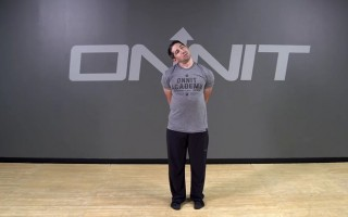 Anchored Lateral Neck Roll Bodyweight Exercise