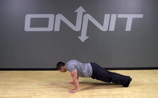 Scapular Push Up Bodyweight Exercise