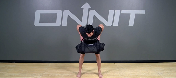 Sandbag Bent Over Rows