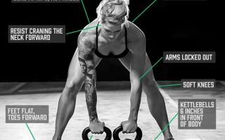 Form at a Glance: Double Kettlebell Starting Position